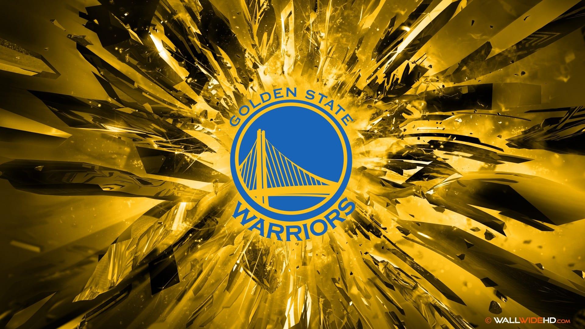 Golden State Warriors 2015 Logo 4K Wallpaper