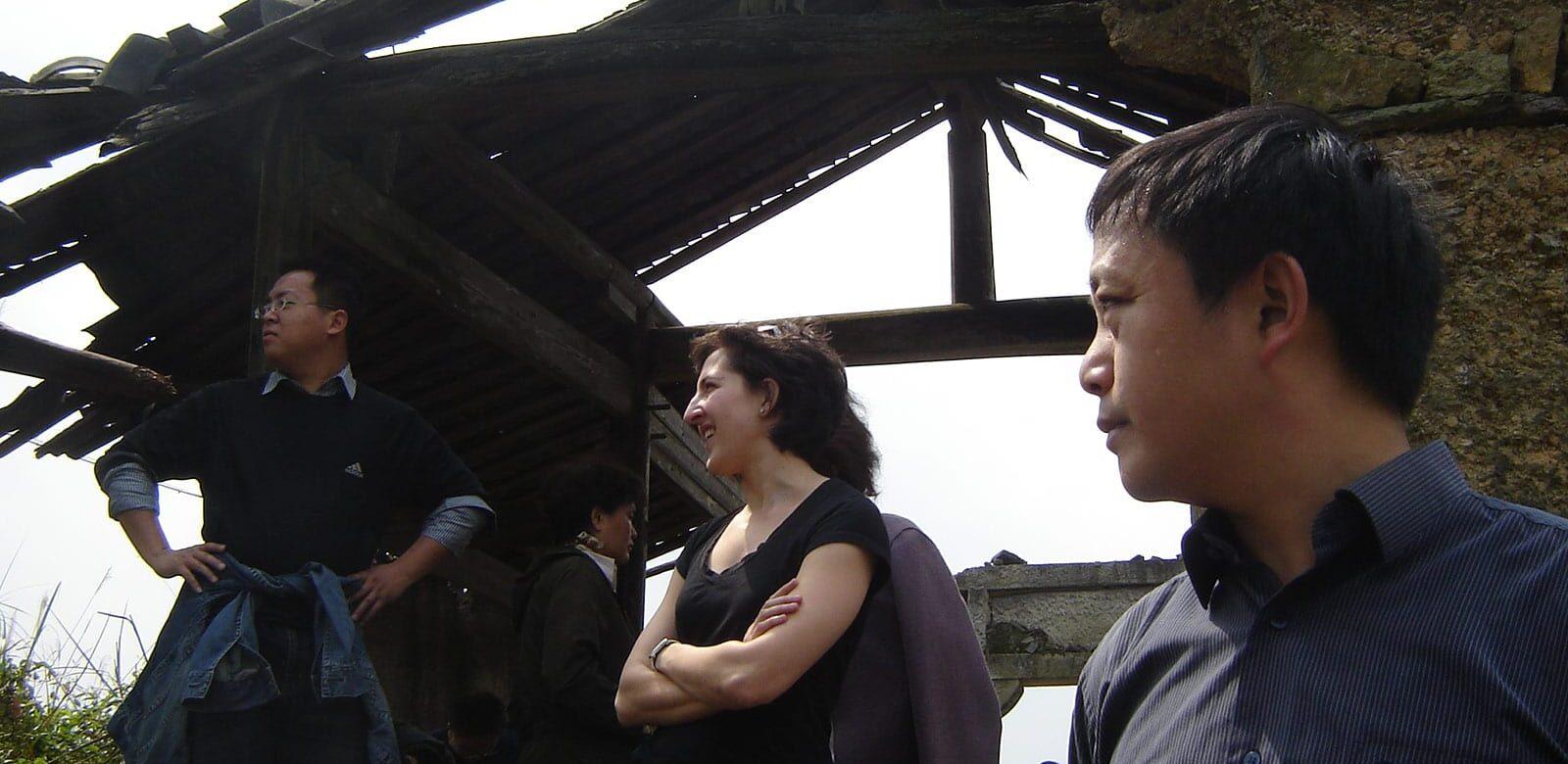 Rachel Stern in China