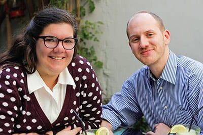 Tori Porell '18 and Hani Banshour '17