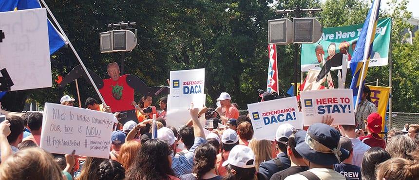 DACA defenders