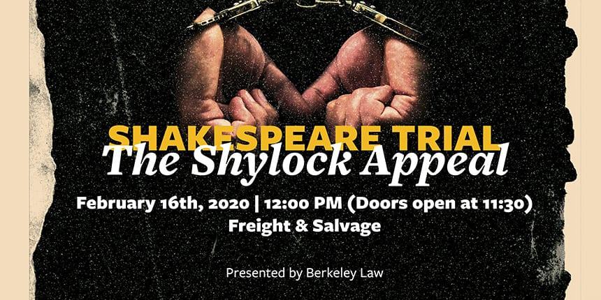 Shylock Appeal banner